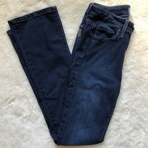 Paige Manhattan Bootcut Jeans Dark Wash Size 27